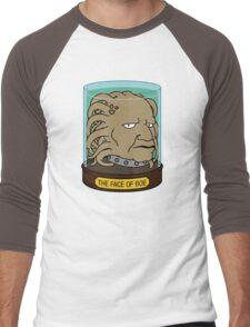 The Face of Boe Men's Baseball ¾ T-Shirt