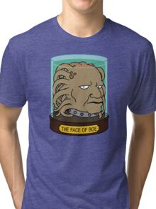 The Face of Boe Tri-blend T-Shirt