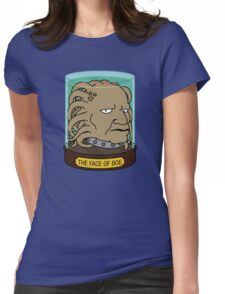 The Face of Boe Womens Fitted T-Shirt