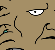 The Face of Boe Sticker