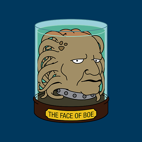 The Face of Boe by huckblade