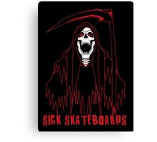 Reaper - Sick Skateboards Canvas Print