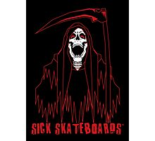 Reaper - Sick Skateboards Photographic Print