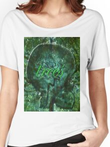 ~trees~ Women's Relaxed Fit T-Shirt