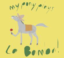 My Pony Plays La Bamba One Piece - Short Sleeve