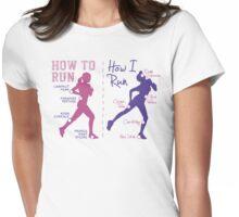 How I Run (Women) - light garments Womens Fitted T-Shirt