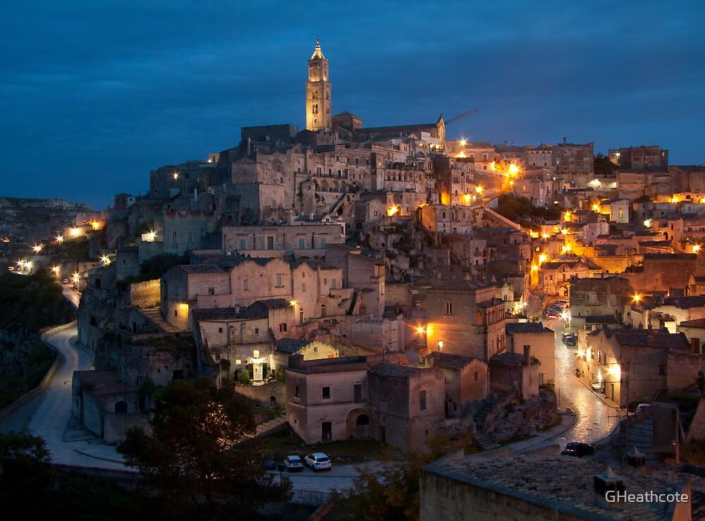 Sassi di Matera, Italy by GHeathcote
