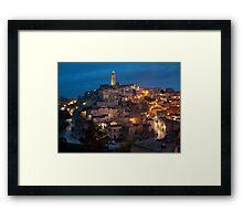 Sassi di Matera, Italy Framed Print