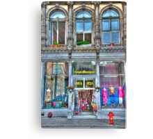HDR Shop Canvas Print