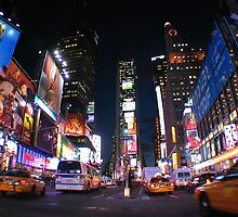 New York firework by Rayna16