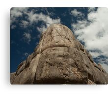 Incan Stonework Canvas Print