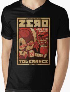 Zero Tolerance Mens V-Neck T-Shirt