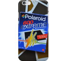 Original pack of vintage Polaroid 600 Extreme Film Case iPhone Case/Skin