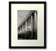 Where Michelangelo Mingled... Framed Print