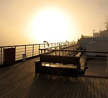 Golden Dawn Aboard The ms Westerdam by Ian Phares