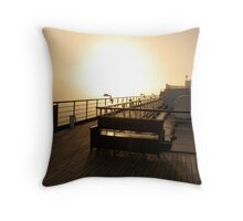 Golden Dawn Aboard The ms Westerdam Throw Pillow
