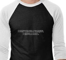 Teen Wolf - I Have a Pack (Dark Colors) Men's Baseball ¾ T-Shirt