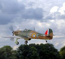 Hawker Hurricane  by larry flewers