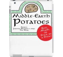 Middle-Earth Potatoes iPad Case/Skin