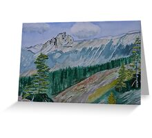 The Burgess Shale Greeting Card