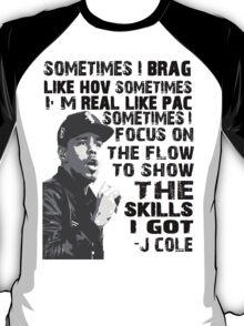 J Cole - Born Sinner T-Shirt