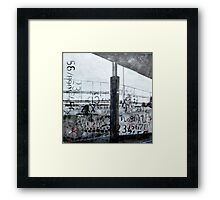 Memories of Italian train travel Framed Print