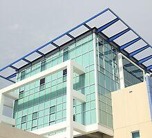 Very Modern Police Headquarters -  Sarasota  by Daniel  Oyvetsky