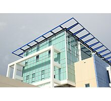 Very Modern Police Headquarters -  Sarasota  Photographic Print