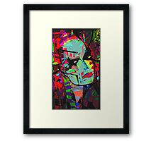 The Body Double Framed Print