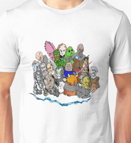 Doctor Who Enemies Unisex T-Shirt