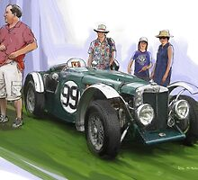 Jacobsen MG Magnette Special by RGMcMahon