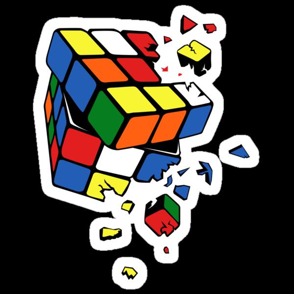 Exploding Cube by zomboy