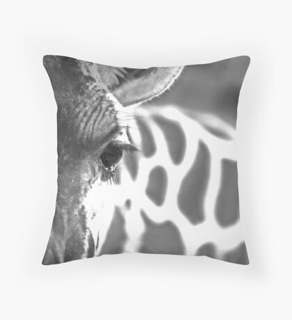 Lux Lashes II Throw Pillow