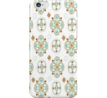 Vintage Moroccan pattern iPhone Case/Skin