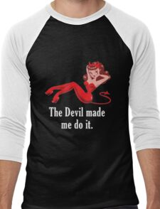 Abaddon Shirt Men's Baseball ¾ T-Shirt