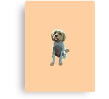 Light Orange Pup Canvas Print