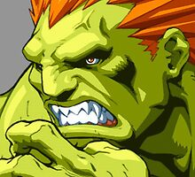 blanka street fighter udon by deltron77