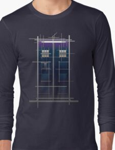 Tardis (White) Long Sleeve T-Shirt