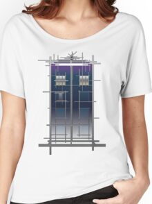Tardis (White) Women's Relaxed Fit T-Shirt