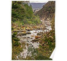 Cataract Gorge, Launceston, Tasmania, Australia Poster
