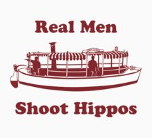 Real Men Shoot Hippos by PersonnelOffice