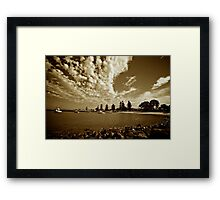 The Harbour #3 - Shellharbour Framed Print