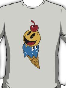Pac Man Ice Cream Cwned T-Shirt