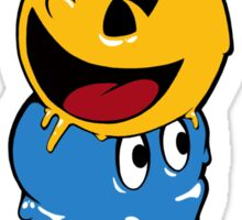 Pac Man Ice Cream Cwned Sticker