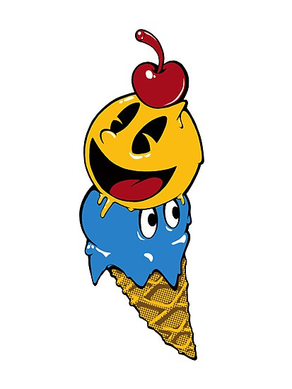 Pac Man Ice Cream Cwned by Gonzo032