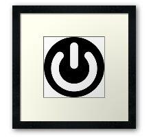 Geek Power Ideology Framed Print
