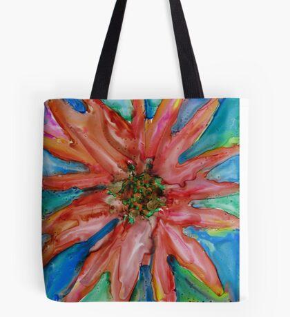 Colorful Christmas Tote Bag