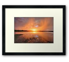 Orange Crush 2 Framed Print
