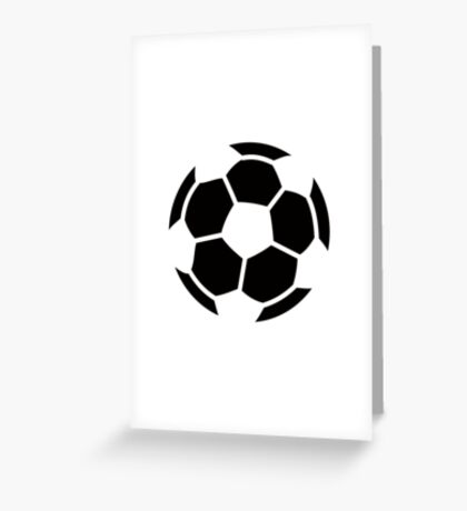 Soccer Ideology Greeting Card