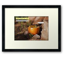 Unhappy Purchase Framed Print